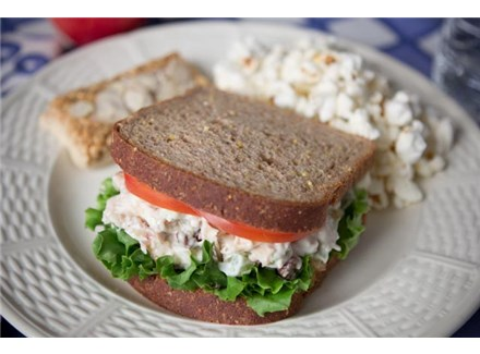A Healthier Chicken Salad